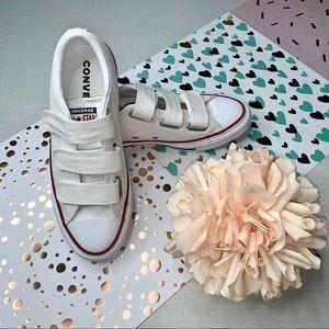 Converse Sneakers' Velcro Strap